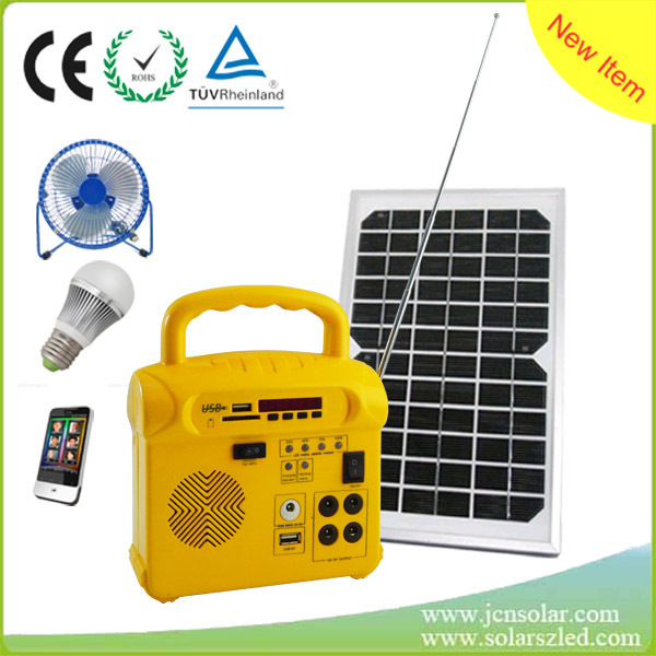 Portable complete home solar power system solar power generator for small house