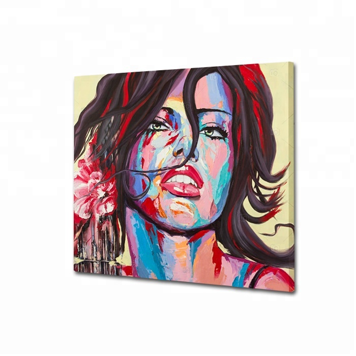 Amazing Design Beauty Portrait Painting Wall Hanging <strong>Picture</strong>