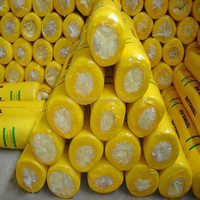 Glass Wool blanket/Fiberglass Wool/Glass Wool Roll with shrinkage wrap bags