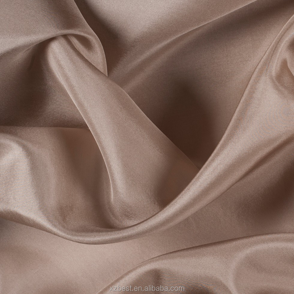 8mm 100 Pure silk Chiffon fabric Raw Silk fabric for sale