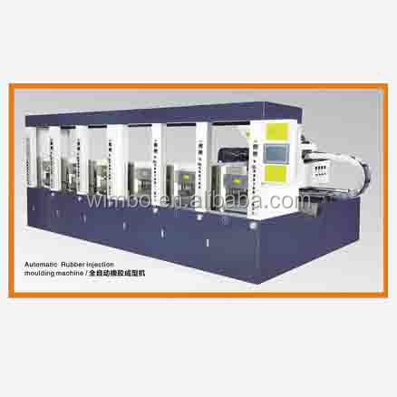 Rubber Plastic Injection Moulding Machine For