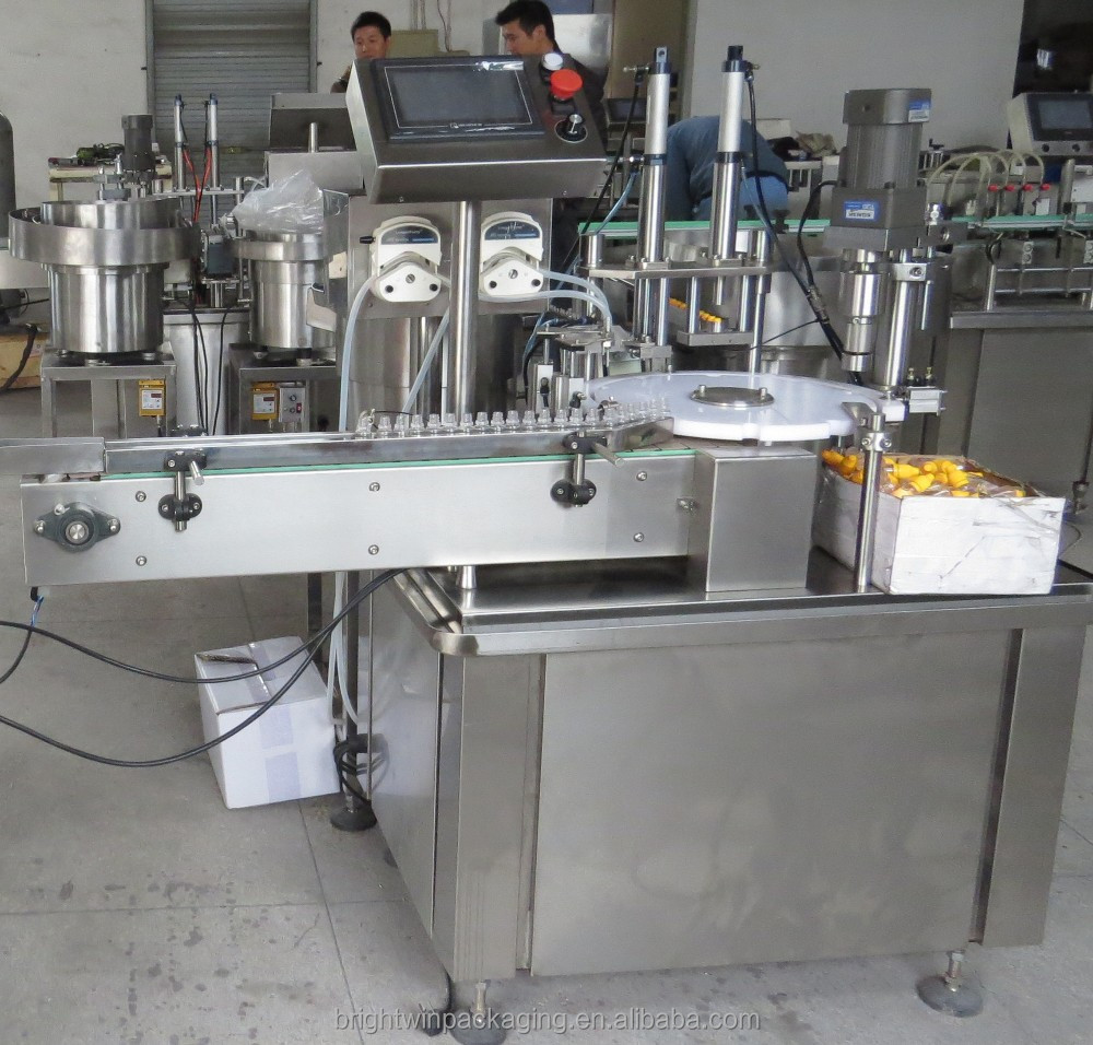 promotion factory price small-scale bottle liquid /essential oil filling machine