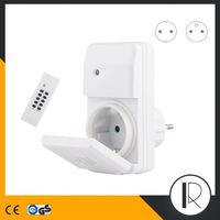 923353 Wireless Remote Control Outlet switch EU/US/UK/French/Swiss/Italy/Denmark socket available