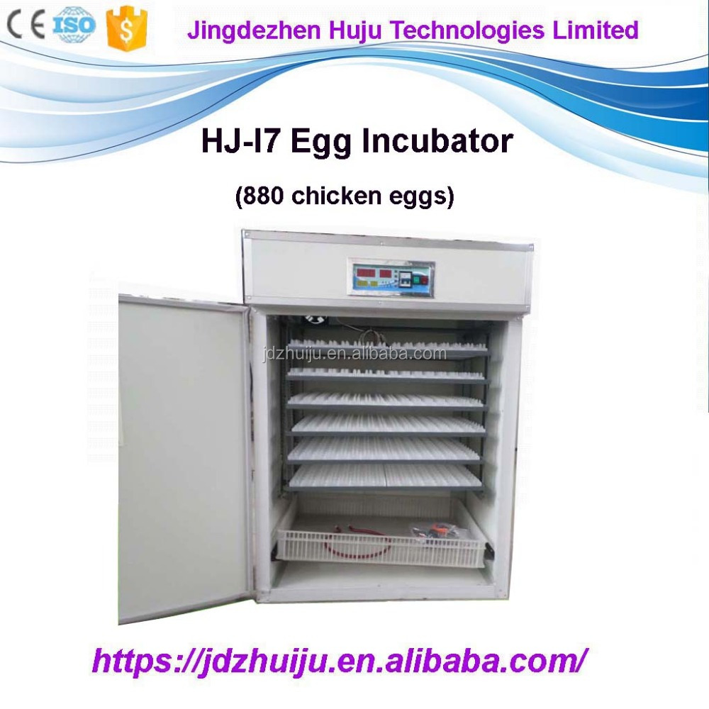 880 chick eggs solar power automatic poultry egg incubator with hatchery