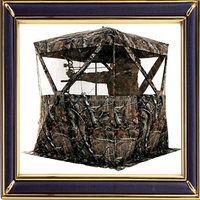Custom mountain leisure camo pattern hunting blind tents