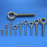 Stainless Steel A2 Screw Eyes