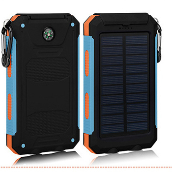 solar power bank private label solar charger 10000mAh for mobile