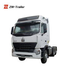 SINOTRUK HOWO A7 Prime Mover / 6*4 420hp tractor head / tow tractor truck for sale
