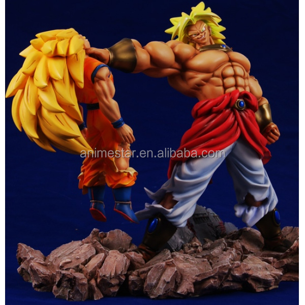 Japanese hot action Dragon Ball Goku Polyresin Anime Figure