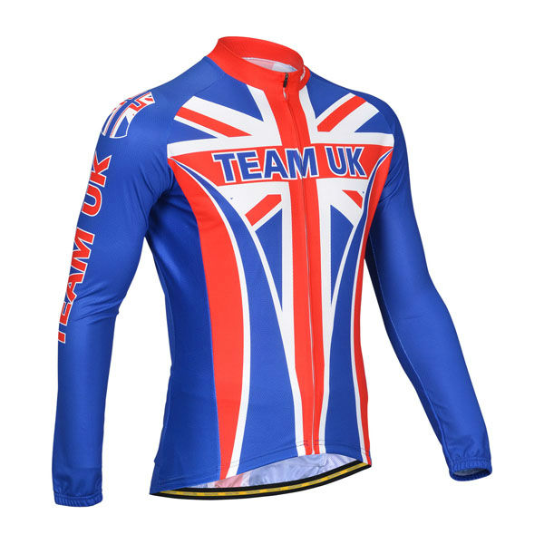 Long Sleeve Shirt with Bib short from Monton Custom Cycling Apparel