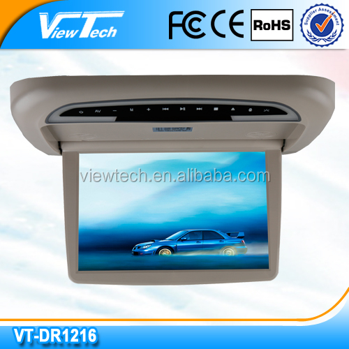 Motorized operation ceiling 12.1'' av dvd japan with SD,USB