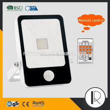 0607259 low price Tempered glasses motion sensor led flood light waterproof ip44 ip65