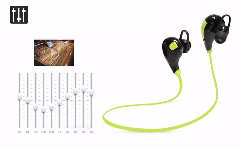 In-ear <strong>Bluetooth</strong> Headphone QY7 <strong>Bluetooth</strong> 4.0 Stereo Earphone Fashion Sport Running Headsets Studio Music Earphone Retail Box