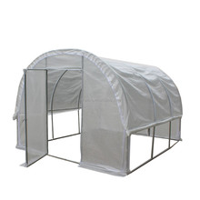 2X3X2.4 m polytunnel greenhouse with PVC cover