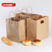 Customized kraft paper bag with handle