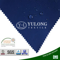 breathable cotton polyester water and oil repellent fabric for clothing