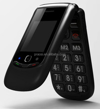 large screen big button gsm senior mobile phone flip with sos calling