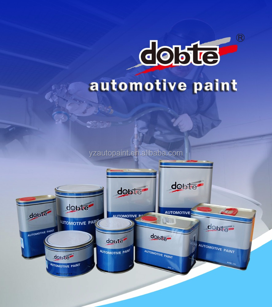 Spray Gun Application Method Premixed Car/Auto/Automotive Paint Colours Similar to Sikkens without Adding Binder