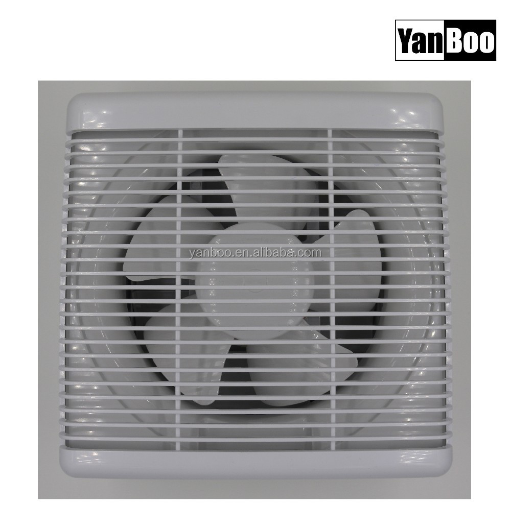 Wall Tape Ventilator Fan/Shutter Exhaust Fan/Plastic Ventilation Fan