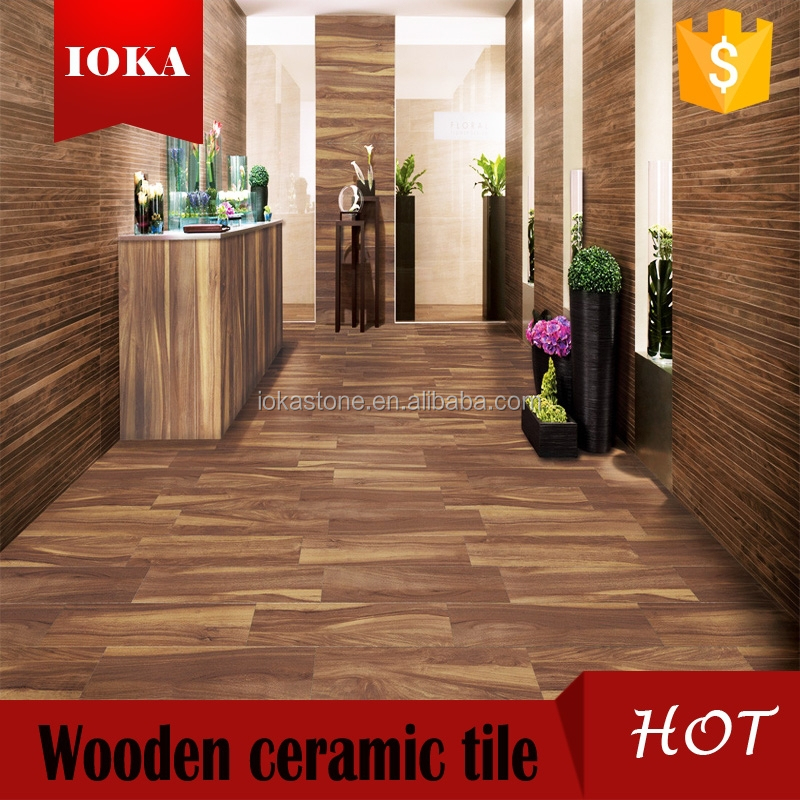 150*600CM CHINA ink jet wooden ceramic bathroom tile design