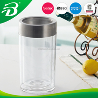 PLASTIC WITH STAINLESS ICE BUCKET