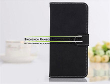 PU Leather Flip Case for Sony Xperia S Lt26i with Magnetic Closure Pouch Wallet Cover
