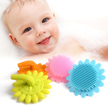 Safety comfortable soft silicone baby body <strong>brush</strong> and bath <strong>brush</strong>