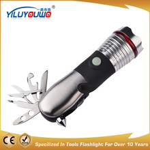 9-In-1 Multi-tool Led Torch Light Tool Kit Flashlight Professional Manufactured Flashlight multi tool set with led torch