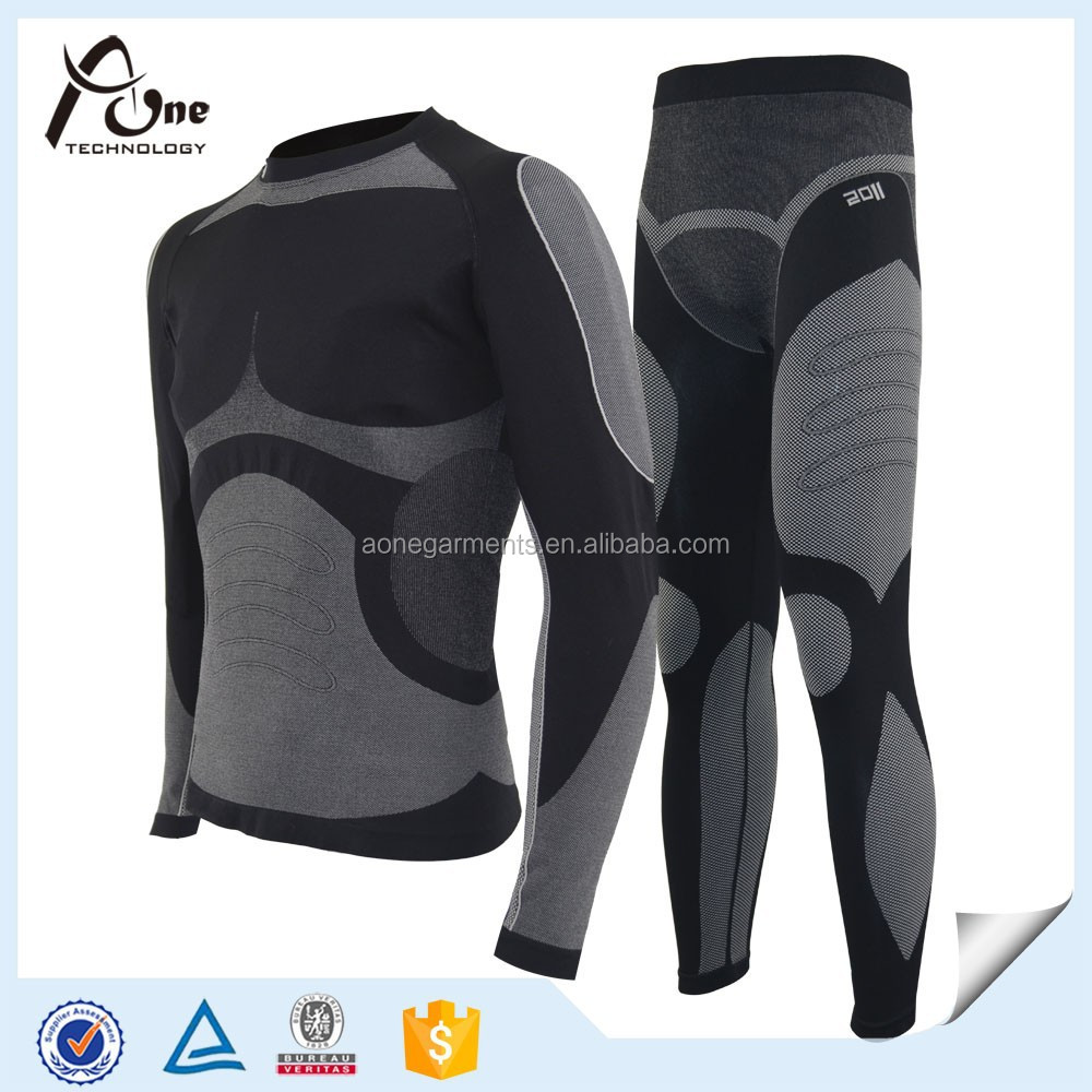 Men High Performance Polyamide Thermal Cheap Compression Base Layer
