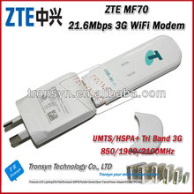 New Original Unlock HSPA+ 21.6Mbps ZTE MF70 3G USB Wireless Modem