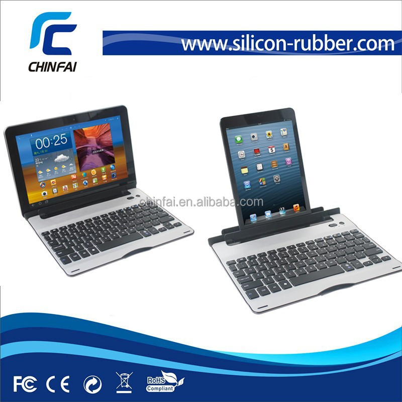 CE FCC Rohs Aluminum Bluetooth keyboard for iPad mini/Air 2 for iPhone 6