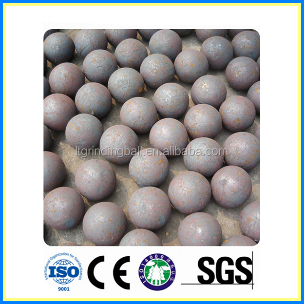 20-130mm Longteng rolled and forged grinding steel ball for cement plant