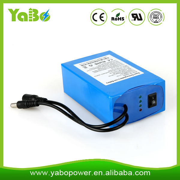 Rechargeable li ion battery 7.4v for GPS/POS machine/digital product