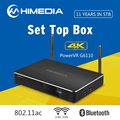 Hot Selling Octa Core 4K HD H 265 Dual WiFi Thailand Iptv Set Top Box