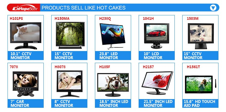 Fast shipping dvi 15.6 inch tft lcd monitor