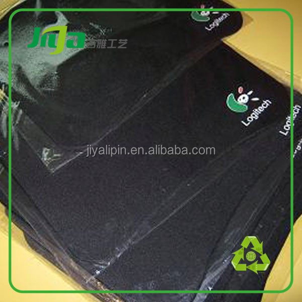 Hot sell Custom promotion cloth mouse pad with rubber base