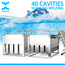 Industrial 40 Cavitis Stainless Steel Ice Cream popsicle mould