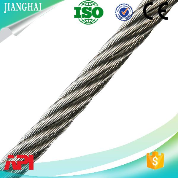 China Free Cutting Steel Special Use and BS,ASTM,JIS,GB,DIN,AISI Standard galvanized steel wire rope