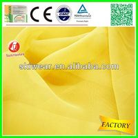 lightweight 100 polyester dying chiffon fabric factory stock