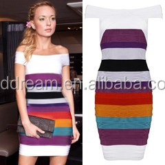 cheap bandage dress online H001 multicolor for celebrity star