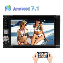 Android 7.1 Car Stereo 2GB 32GB Octa-core in Dash Car DVD Player Auto Video Headunit support GPS Navigation FM AM Steering Wheel