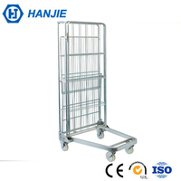 Foldable Rolling 4 Wheels Industrial Container