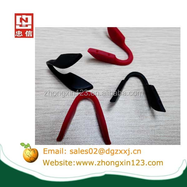 eyeglasses frame silicone rubber nose pads