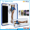 Custom Clear TPU Printing Phone Case For iPhone 5/6/6+ With IMD Technology