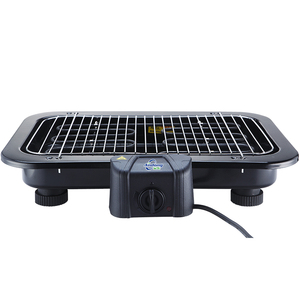 Indoor Tabletop Smokeless Electric BBQ Grill With Thermostat And Grill height adjustable For Home use
