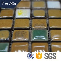 Factory direct sale ceramic mosaic tile for swimming pool with low prices