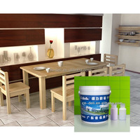 Water based PU adhesive for furniture cover/top kitchen