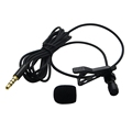 Metal Casing Seacue 3.5mm Lapel Clip-on Lavalier Microphone for iPhone,iPad,Android Phones