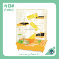 Beautiful and highest quality wire large 3 level Ferret Cage