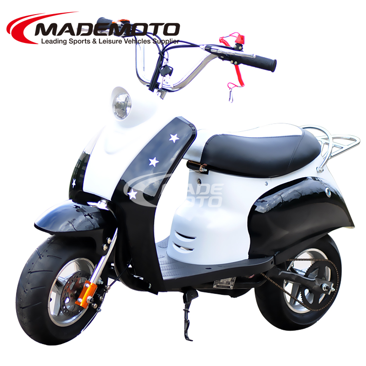 folding 50cc pull starter gas scooter racing